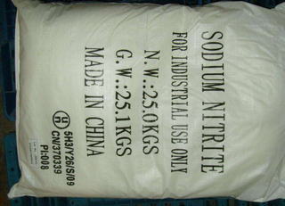Sodium Nitrite for Textile Dyeing